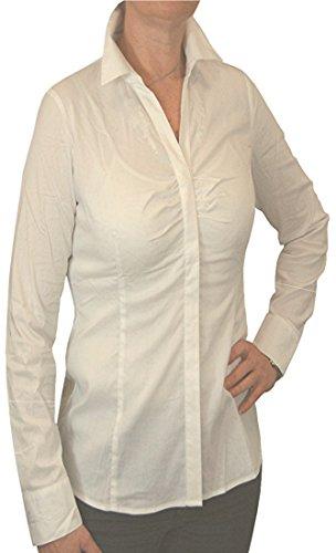 Spieth & Wensky Hemdbluse WINDROSE mit Stretch in verschiedenen Ausführungen, Größen:52;Farben:creme
