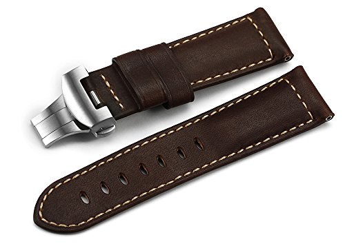 istrap-24mm-asso-leather-strap-military-ammo-watch-strap-band-with-stainless-steel-deployment-clasp-