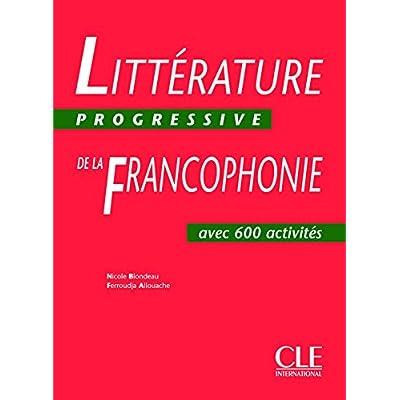 Littérature Progressive de la francophonie