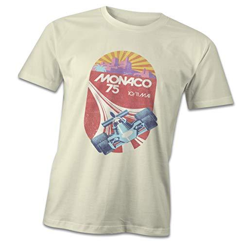 Retro F1 Monaco 1975 T-Shirt, Vintage Racing, 70's, Formula 1 Car Motorsport -