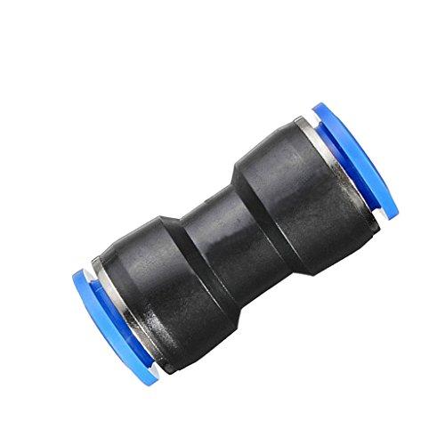 B Blesiya Verbinder Steckverbindung Pneumatik Kupplung 6-12 mm Schlauchverbindung - 6mm