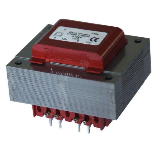 PCB Montaggio Trasformatore 115V + 115V 12VA 20V + 20V prodotto nel Regno Unito.