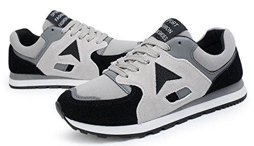DADAWEN Amoureux Mode Breathable Runing Chaussure Noir