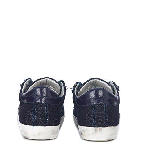Philippe Model Sneaker Paris in Denim Blu Blu