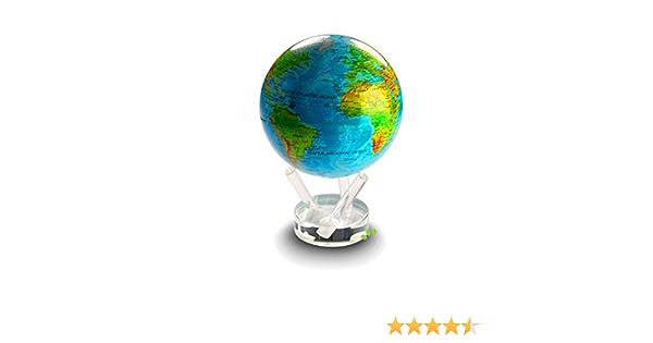 Rotierender High Tec Globus auf Basis Solarenergie und Erdmagnetfeld Landkarte MOVA Globus FU1000 Globe 2008 Peros electronics GmbH B001DJA0DY Atlanten und Weltkarten Globen