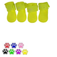 V-Hao Water-proof Dog Paw Cover Boots Summer Pet Paw Protectors Cat Booties Rain Shoes Dog