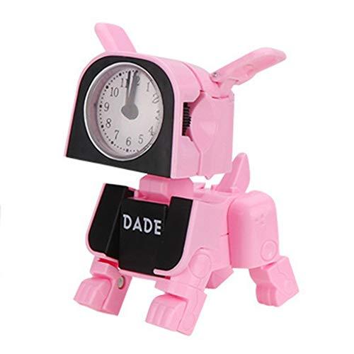 Dtuta Sonnenuhren FüR Kinder Wecker Laut Extrem Tischuhren Batteriebetrieben Elektronische Serie des Kreativen Und Wandelbaren Spielzeugs