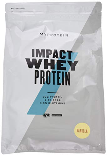 Myprotein Impact Whey Protein Vanilla, 2500g - Körper Whey Protein