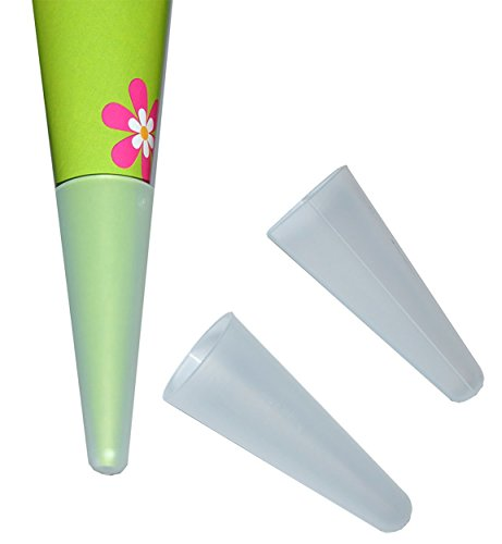 Preisvergleich Produktbild stabile Spitze für die Schultüte aus Kunststoff - für die fertige Zuckertüte oder Bastelset´s - Schulanfang Schultütenspitze - Kunststoffspitze