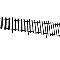 Laser Cut 6ft Wrought Iron Railings For OO / 4mm / 1:76 Scale LX011-OO