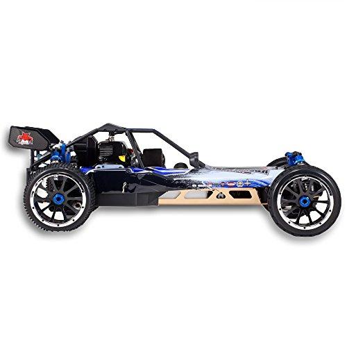 RC Auto kaufen Buggy Bild 4: Redcat Racing Rampage DuneRunner V3 4x4 Gas Buggy (1/5 Skala), Blau/Schwarz*