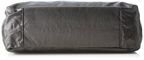 Kipling Caralisa, Sacs Portés Main Femme, 34x25x11 cm Noir (37R Metallic Blck)