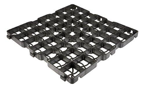 6,5m² 30LG Reitplatzbau Paddockplatten Paddockplatte Rasengitter 50x50x3 cm 9,52€/m²
