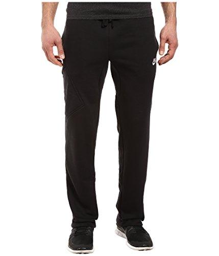 Nike Mens Open Hem Fleece Pocket Sweatpants Nike Fleece-sweatpants