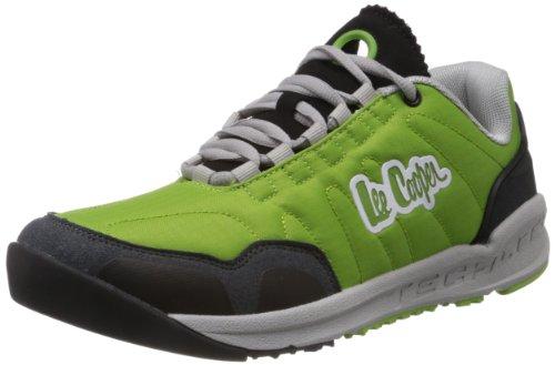 Lee Cooper Men's Green and Grey Mesh Running Shoes  - 7 UK