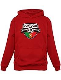 Green Turtle T-Shirts Allez Le Portugal ! Portugal Mondial Football  Sweatshirt Capuche Enfant 8d27c5bf6cc