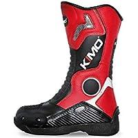 Bottes Moto-Dirt-Pocket pour Enfant - 32, Rouge 92a4f185bb57