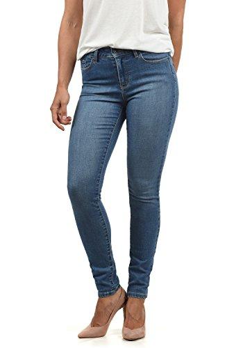 VERO MODA Diamant Damen Jeans Denim Hose Strech Mid-Rise, Größe:M/ L30, Farbe:Medium Blue
