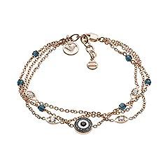 Idea Regalo - Emporio Armani Braccialetto Link ad anello Donna acciaio_inossidabile - EGS2531221