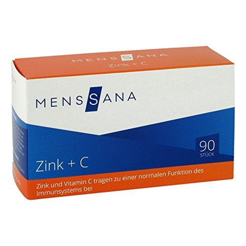 Zink + C MensSana, 90 St. Lutschtabletten