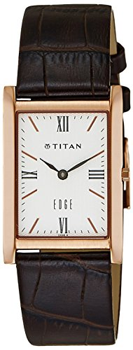 Titan Edge Analog White Dial Men's Watch - NC1043WL01  available at amazon for Rs.8449