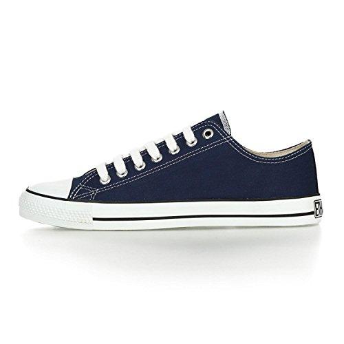 Ethletic Sneaker LoCut aus Bio-Baumwolle – ocean blue / white – fair trade & vegan - 3