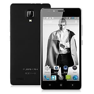 LANDVO L500 Octa-core 5 pouces Smartphone 3G Noir Android 4.4 MTK6592 1.4GHz 1280*720 Caméra 8.0MP 1Go & 8 Go Double SIM Carte support GPS, Bluetooth, WIFI - Pour Orange/ SFR/ Bouygues/ Free + Excelvan Micro SD Carte 8G