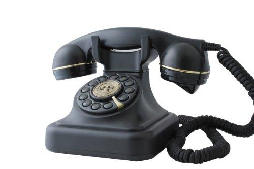 Swissvoice Vintage 20 - Schnurgebundenes Analog-Telefon im stilvollen Retro-Design mit vergoldeten Details - 3