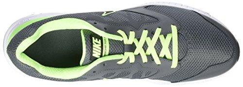 Nike Downshifter 6, Chaussures de Sport Homme Gris / Verde / Blanco
