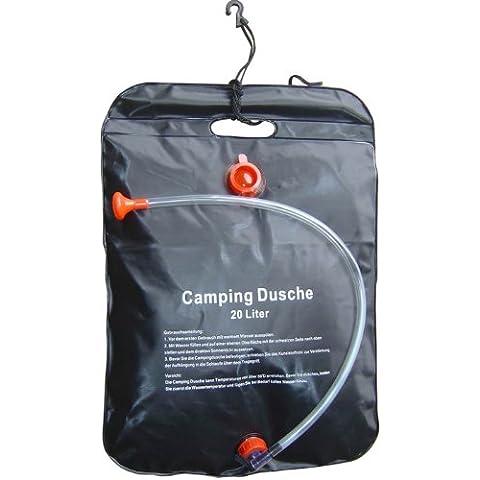 Camping ducha, ducha para Camper, 20litros, con manguera