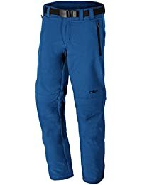 CMP Joven 3t51644Zipp Off Pantalones, niño, 3T51644, marrón, 3 años (98 cm)