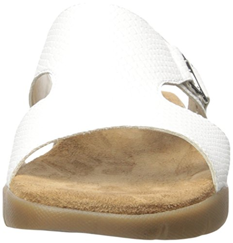 Aerosoles New Wip Synthétique Sandale White Snake