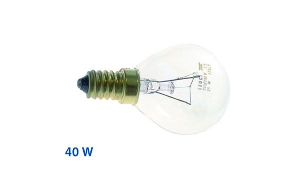 Bosch Siemens Lampe E14 230V Kugelform für Backofen 40W Kühlschrank 057874