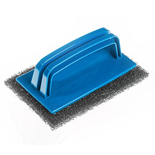 griddle-scourers-and-handle-10-metal-wire-scouring-pads-with-applicator-handle