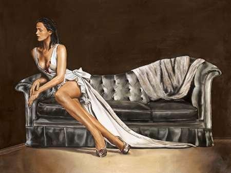 Impresión de Arte Fino en lienzo : Caprice by Ciccone, Emilio - Medio (140 x 106 Cms)