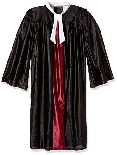 Bristol Novelty AC223 Richter Robe Kostüm, Schwarz, 42-44-Inch