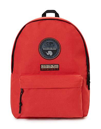 Napapijri VOYAGE Mochila tipo casual, 40 cm, 20.8 liters, Rojo (Orange Red)