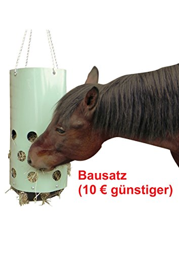Heutoy (Bausatz) - jetzt HeuToy kaufen, die bessere Heuraufe, Heunetz, Heusack