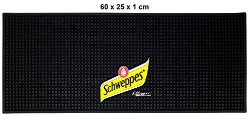 Schweppes Barmatte Gummimatte 60x25x1cm