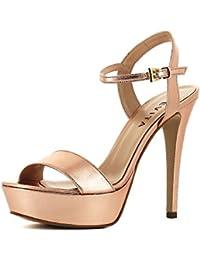Evita »STEFANIA« Sandalette, rosa, roségoldfarben