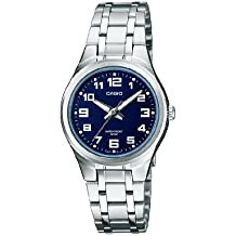 Casio Collection – Damen-Armbanduhr mit Analog-Display und Edelstahlarmband – LTP-1310PD-2BVEF