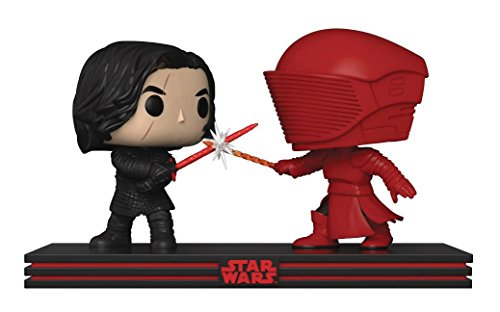 Funko- Pop Star Wars Movie Moment Last Jedi-Clash on The Supremacy Figuras de Vinilo Kylo REN & Guardia Pretoriano, (32559)