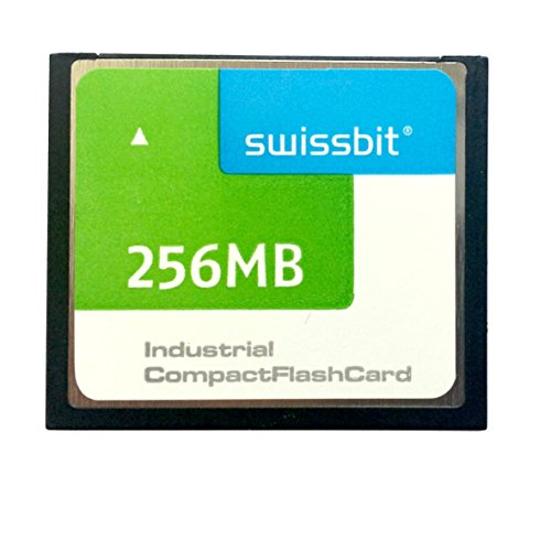 256 Mb Compactflash-speicher (Swissbit CF-Karte 256MB * SFCF0256H3BK1SA-I-M0-513-STD 256MB CompactFlash Industrial Standard -40° - +85°C * mit Hyperstone F3 Controller * Garantiert Made in Germany)