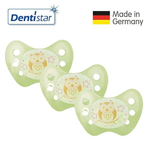 dentistarr-night-silikon-schnuller-grosse-1von-geburt-an-0-6-monate-nacht-leuchtschnuller-nuckel-leu
