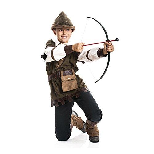 Robin Kostüm Zubehör - Kostümplanet® Robin Hood Kostüm Kinder Jungen Kinder-Kostüm Größe 116
