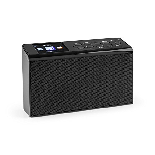 Auna KR-190 Internet Kitchen Radio     WiFi     App Control     3 2  TFT Display     250 Station Storage Memory     USB     MP3     AUX     Time and Date Display     Media Streaming Cache     Various Playback Modes     Remote Control Included     Black