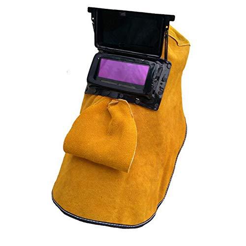 LAIABOR Solar Casco De Soldadura Automático Ajustable para Soldar De Energía Solar De Oscurecimiento Automático Fotosensible Máscara De Soldador