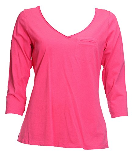 ex-marks-spencer-pink-jersey-top-size-14