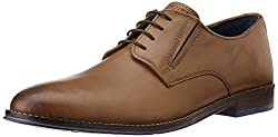Hush Puppies Mens Styleoxford_Pl Beige Light Brown Leather Formal Shoes - 10 UK/India (44 EU)(8243994)