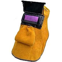LAIABOR Solar Casco De Soldadura Automático Ajustable para Soldar De Energía Solar De Oscurecimiento Automático Fotosensible